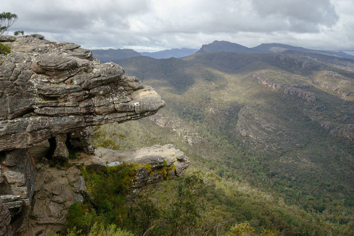 The Balconies, Grampians National Park, Victoria, Australia. Australia Australian Landscape National Park The Balconies The Grampians Victoria Beauty In Nature Day Grampians Grampians National Park Landscape Mountain Mountain Range Nature No People Outdoors Rock - Object Scenics Sky Tranquil Scene Tranquility