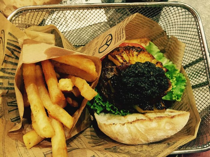 Delicious Truffle Burger