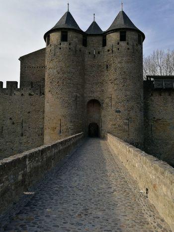 Otra de las Entradas al Castillo de Carcassone
