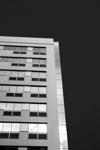 Architecture Building Exterior Window Built Structure Apartment City No People Skyscraper Outdoors Day Blackandwhite Black And White Black & White