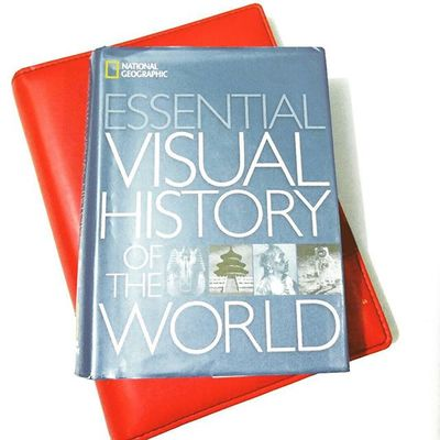Photoproject365 Clovewebstudio July2015 Day 22 of 365 - Book from Natgeo Nationalgeographic This small but thick book is becoming my kid's favourite.