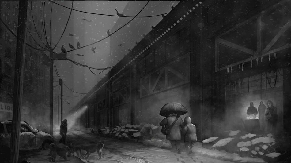 Another sketch for an animation show Conceptart Sketch Digital Art Digital Painting ArtWork Ghetto