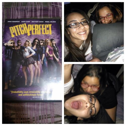 Watched Pitch Perfect with Anais today, ✌