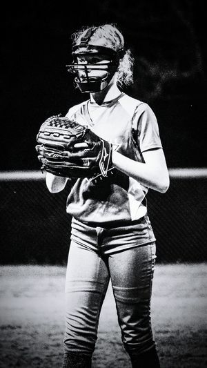 Softball Game Softball Girls Pitcher Fastpitch