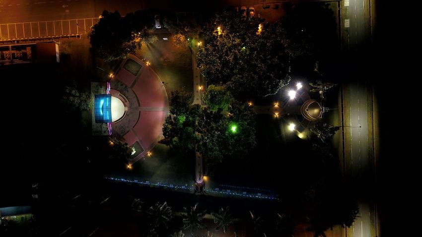 night in campus Lampu Malam Uitm Dataran Uitm Uitm Perlis Illuminated Celebration Close-up Electric Light