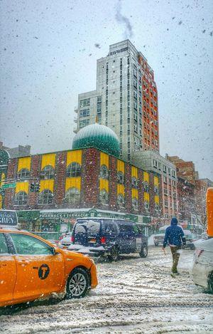 The Best Of New York Pedestrians vs. Snow Storm vs. Vehicles AMPt Community Tadaa Community OpenEdit Harlem  Urban Landscape
