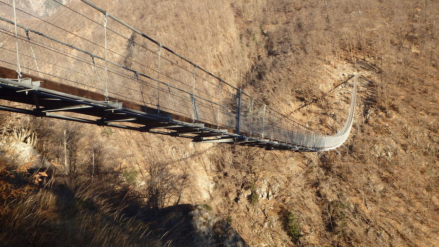 Ponte Tibetano Carasso Da Sotto No People Outdoors Day Nature Close-up Tibetano Ponte Bridge Tibetan  Tibetan Culture Tibetan Bridge Carasso Svizzera Switzerland Drop Ponte Tibetano Probe Prova Bellinzona Bellinzona, Switzerland Cantone Ticino Corda Wood Legno