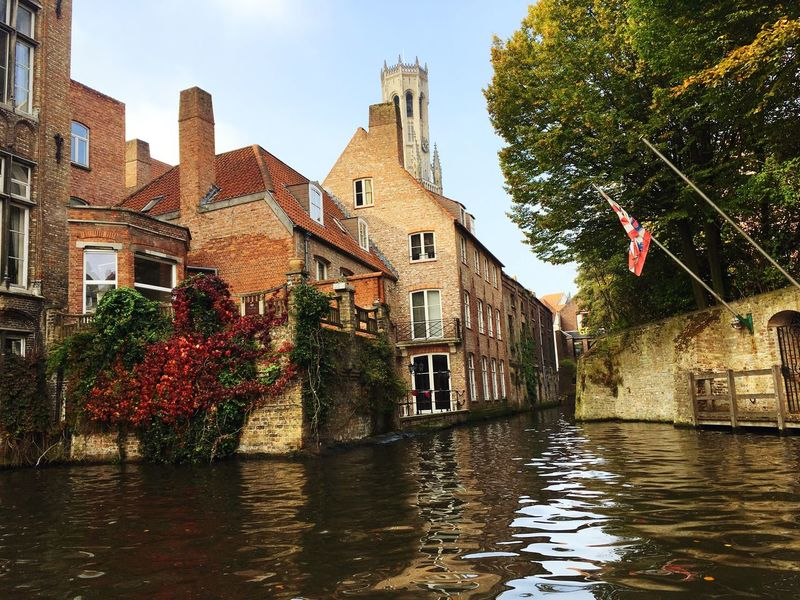 Brugge 🇧🇪 Architecture Built Structure Tree Outdoors River City Day