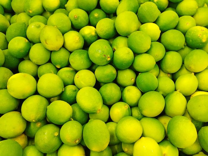Fresh Lime From Village Fresh Fresh Lime Market Market Stall No Body Lime Backgrounds Beauty Full Frame Stack Social Issues Close-up Green Color Juicy For Sale Shop Farmer's Market Stall Farmer Market Vitamin C
