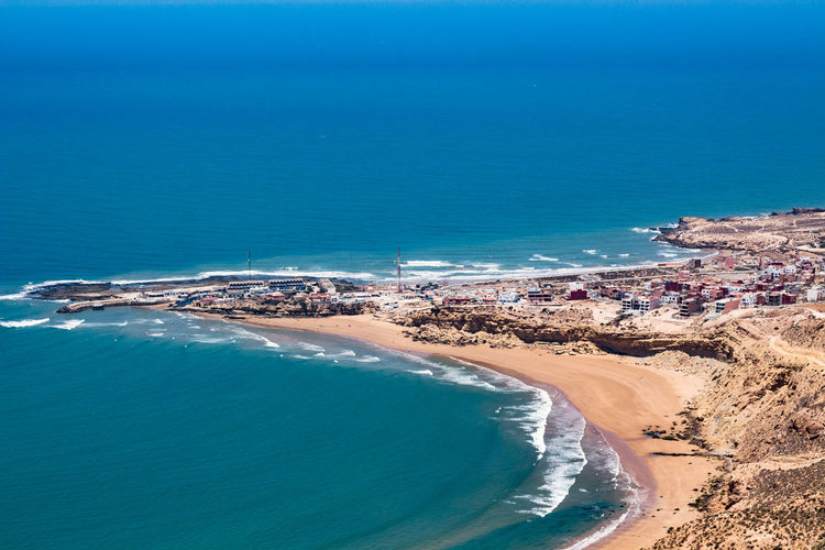 Landscape Sea Water Land Beach Scenics - Nature Beauty In Nature Blue Day Nature Tranquil Scene High Angle View Tranquility Idyllic No People Outdoors Sky Non-urban Scene Travel Aerial View Turquoise Colored