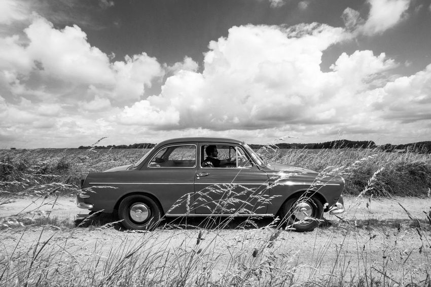 1 9 6 4 60s Style Oldtimer Classic Car Blackandwhite Travelling Black And White Photography Thepast 2016 EyeEm Awards Car Petrolhead Driving Drivebyphotography Design Nature Shapes And Lines Aerodynamic Present Wondering The Drive