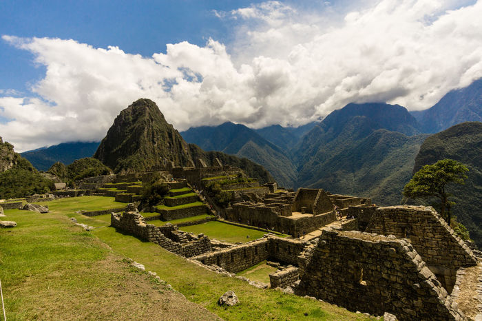 A classic motive from Machu Picchu, Peru Ancient Ancient Civilization Beauty In Nature Eye4photography  Cloud - Sky Day History Landscape Machu Picchu Mountain Mountain Range Nature No People Old Ruin Outdoors Pyramid Scenics Sky Sony A6000 The Past Tourism Tranquility Travel Travel Destinations EyeEmNewHere This Is Latin America