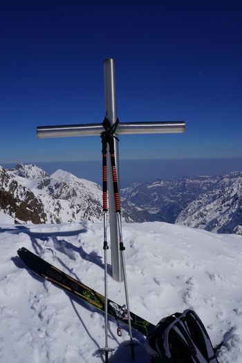 2 999 M 44° 08′ 51″ Nord 7° 18′ 38″ Est Cime Guilié Cold Temperature Outdoors Parc Du Mercantour Park Mercantour Snow Sud De La France Winter