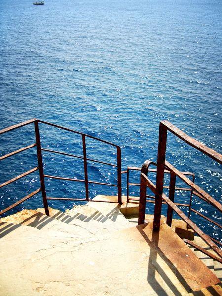 Meer Treppe Wasser Rost Sardinien Sardinia Ocean Ocean View Miles Away Sea Boat Ship Miles Away