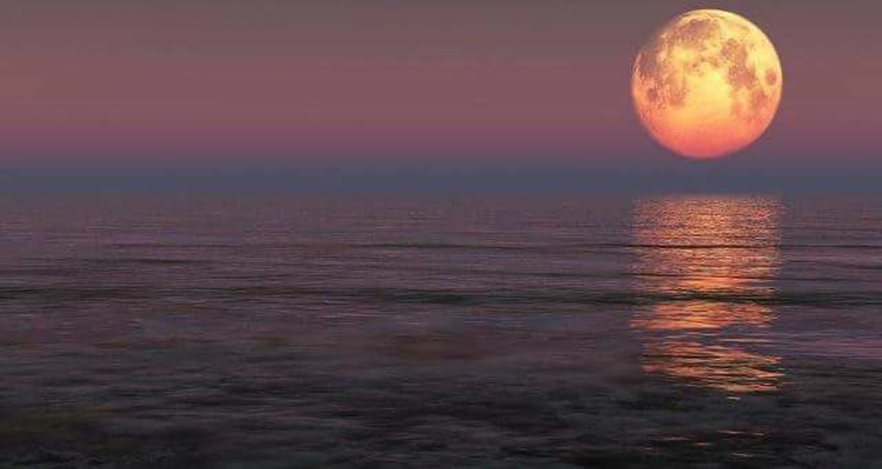 sunset, reflection, moon, water, beauty in nature, nature, tranquil scene, night, sky, outdoors, scenics, sea, horizon over water, illuminated, tranquility, landscape, multi colored, dawn, space, no people, backgrounds, astronomy, galaxy