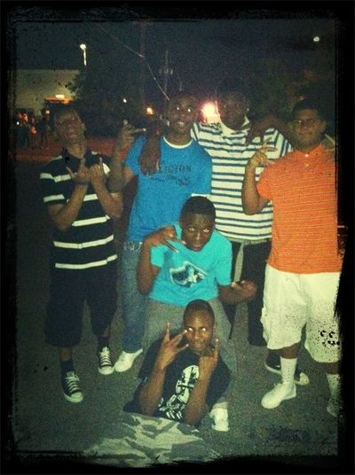 throwback me & my nikkas