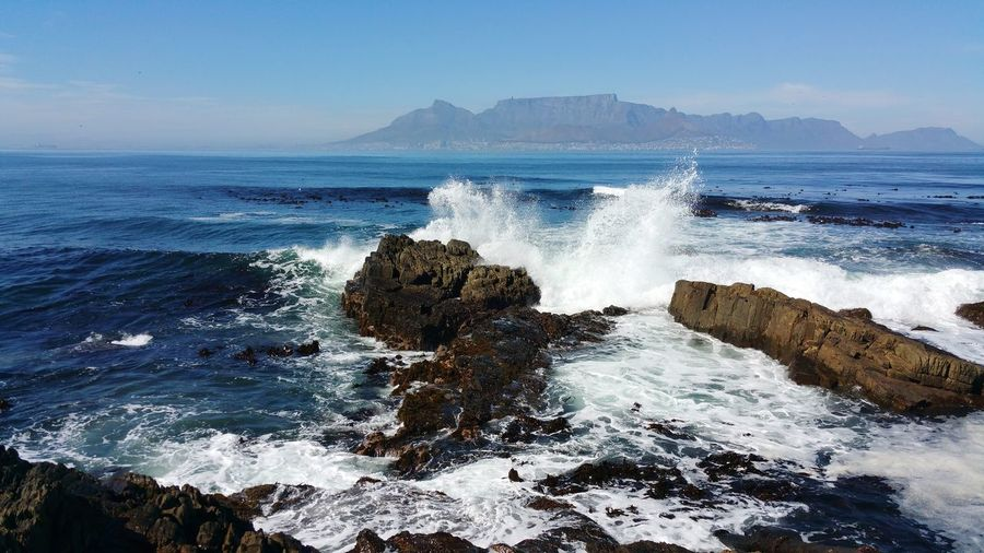 Sea Water Wave Nature Beauty In Nature Scenics Horizon Over Water Motion Breathing Space Amazing_captures Sea Rocks Waves Crashing Waves And Rocks Waves Crashing On Rocks Waves Splashing Waves Breaking On A Shore Landscape Backgrounds EyeEmNewHere Capture The Moment Scenics Landscape Panoramic View Robben Island Cape Town In The Distance Robbenisland Lost In The Landscape Perspectives On Nature Be. Ready.