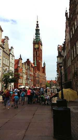 City Travel Destinations Sky Architecture Urban Skyline Cityscape Outdoors Large Group Of People People Clock Tower Only Men Day Poland 💗 Streetphoto Poland City Life Street Photography Gdansk (Danzig) History Building Exterior Gdansk Travel City Gdańsk. Gdansk,poland The Street Photographer - 2017 EyeEm Awards