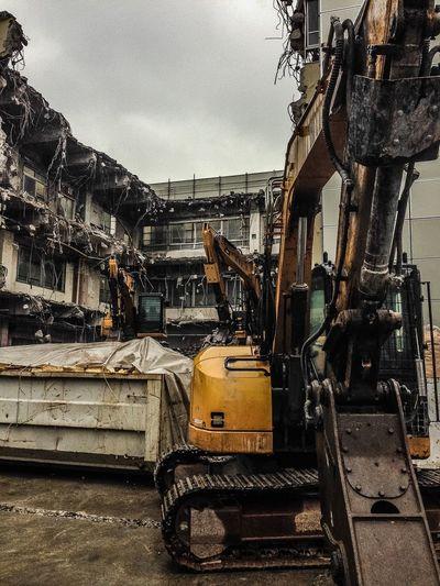 Architecture Demolition Building Destruction Cityscapes