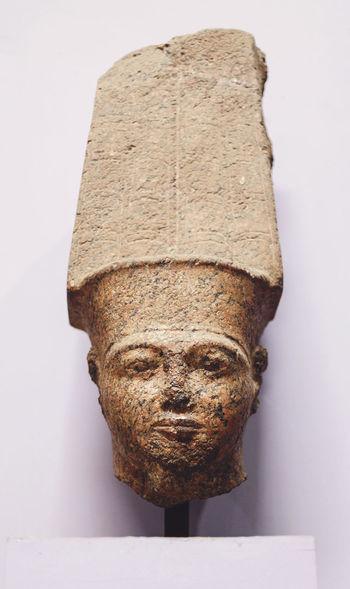 Ancient Civilization Art And Craft ArtWork Close-up Crativity Creativity Detail Egypt Egyptian Museum Egyptology HEAD Human Representation Pharahos Statue Statue Statue Statues Still Life