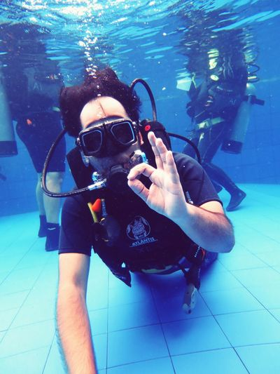Underwater One Person One Man Only UnderSea Swimming Scuba Mask Lifestyles Skill  Snorkeling Underwater Diving Adults Only Adult Only Men People Sea Life Day Bali, Indonesia Eye4photography  EyeEm Best Shots