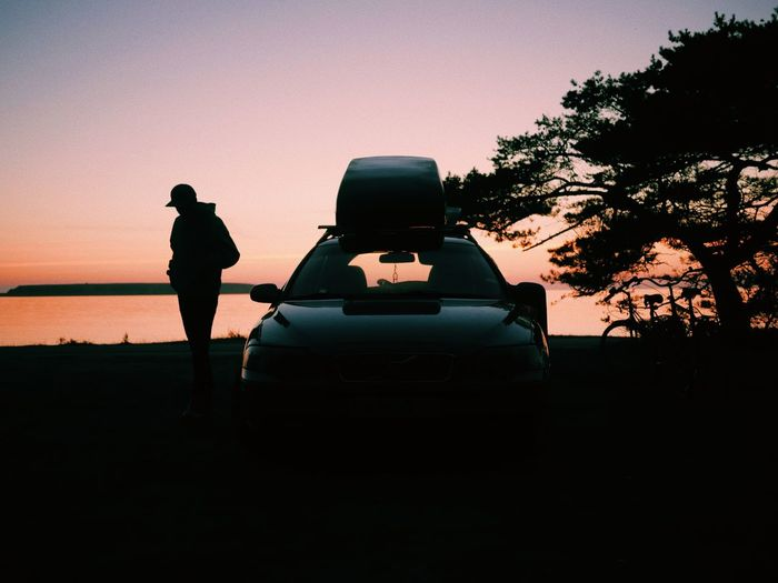 BestofEyeEm Road Trip Roadtrip Golden Hour Adventure Explore Outdoors VSCO Vscocam Eyeemmarket Volvocars Volvo Campinglife Silhouette Sky Sunset Real People Nature Standing Men Lifestyles Transportation Beauty In Nature Leisure Activity Outdoors Capture Tomorrow