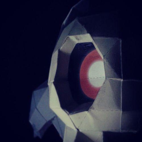 Duskull Pok émon Papercraft Embole
