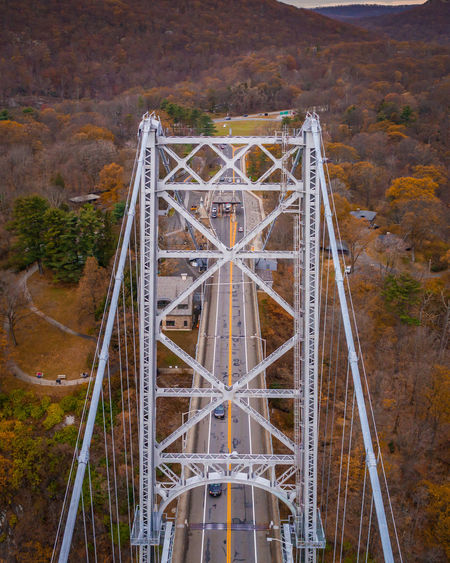 Drone  New York Architecture Beauty In Nature Bridge - Man Made Structure Built Structure Connection Day Dji Drone Photography Dronephotography Droneshot Landscape Mountain Nature No People Outdoors Sky Transportation Travel Destinations Tree