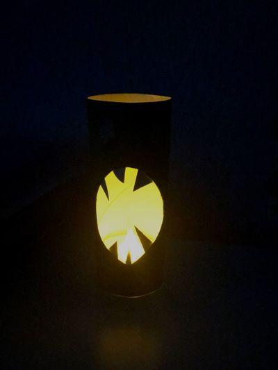Illuminated Yellow Glowing No People Indoors  Night Close-up