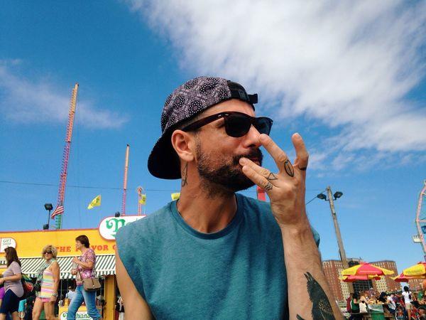 Swag Swag Yolo Yolo Eating Tattoos Bae <3 Roland Coney Island