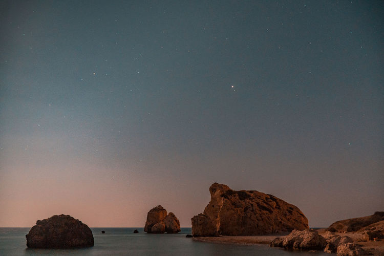 Petra tou Romiou Astronomy Astro Night HUAWEI Photo Award: After Dark Long Exposure Shutterspeed Seascape Sony A6500 Sea Water Reflections Lightroom Water Constellation Sky Star Field Starry Infinity Star Space Star Trail Rock Formation Physical Geography Geology Glittering
