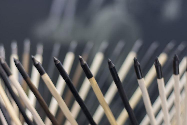 Full Frame Shot Of Arrows