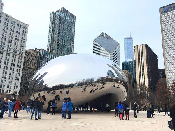 Architecture Travel Destinations Tourism The Bean Jeff Koons Chicago Chicago Architecture EyeEm Diversity EyeEmNewHere EyeEmNewHere