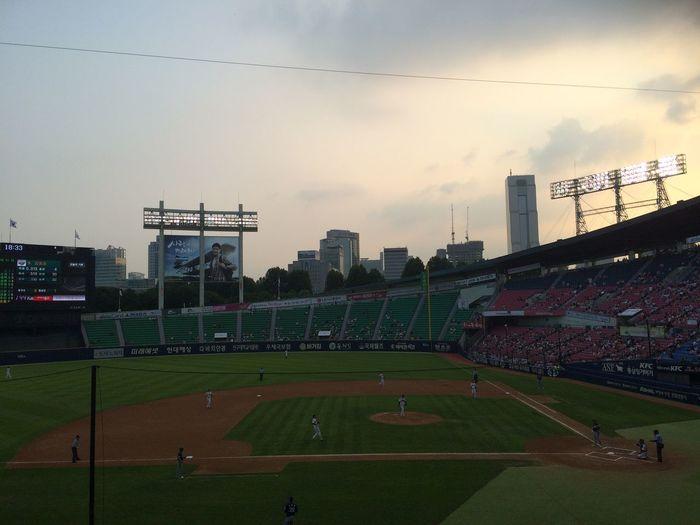 Sport Baseball Beer Hot Summer