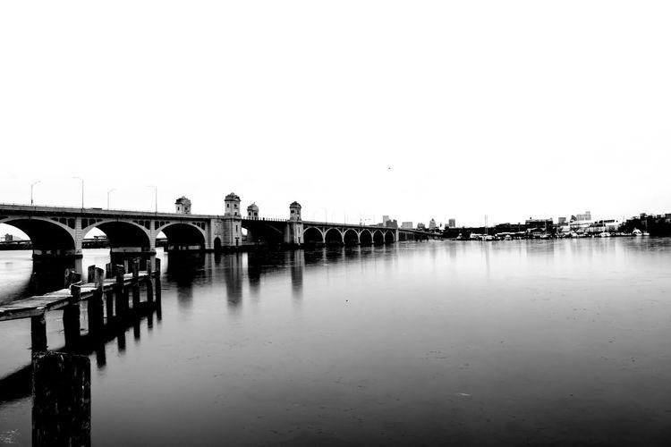 Baltimore BaltimoreCity Bridge - Man Made Structure Charmcity Maryland MDinFocus Outdoors Patapscoriver Reflection Water
