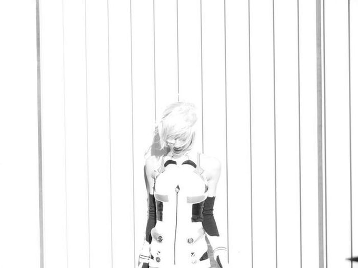 One Person Outdoor Odaiba Art Is Everywhere Reiayanami 綾波レイ Cosplay Day Portrait EyeEmNewHere Nikonphotography Tokyo Beatiful Girl Modelgirl W/mika Blackandwhite Photography Monochrome City Life Arts Culture And Entertainment Event Young Adult Evangelion Fragility Melancholy The Portraitist - 2017 EyeEm Awards