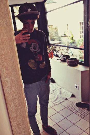 Mickey ✌️ Hello World That's Me