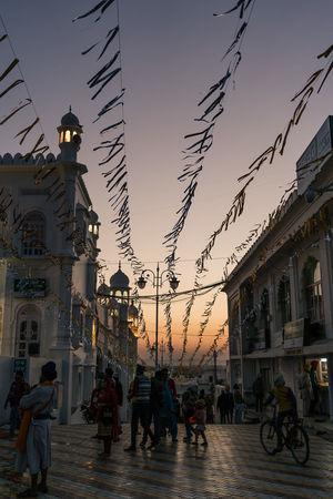 ANANDPURSAHIB Anandpur Sahib Everyday Lives India Punjab Travel Travel Photography Outdoors People Real People Sky Street Photography Sunset