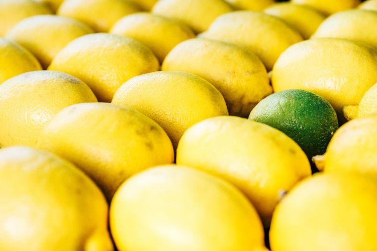 Beautifully Organized Yellow Green Colors