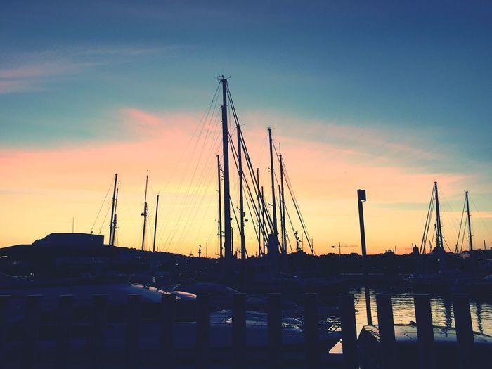 Beautiful Sunset in Barcelona First Eyeem Photo
