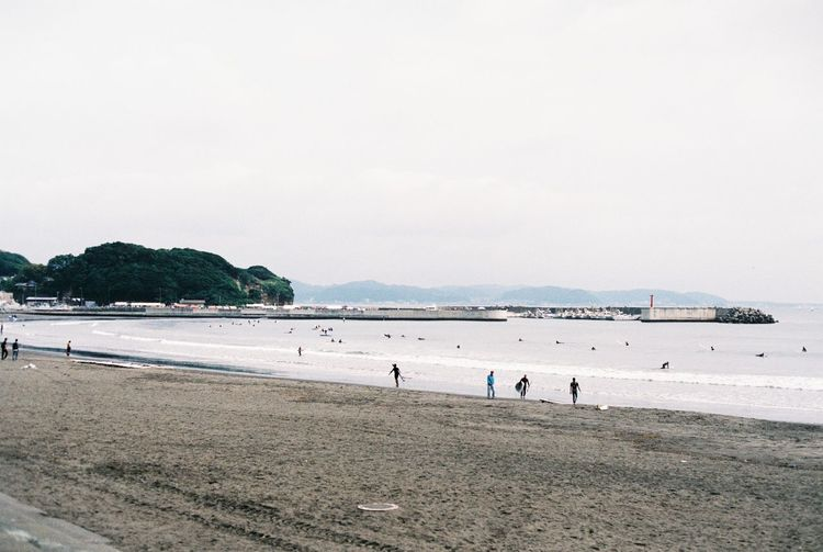 great beach ever 135film 35mm Film Beach Clear Sky Coastline Copy Space Film Film Photography Filmphotography Fujifilm Horizon Over Water Japan Kamakura Ocean Outdoors Sand Sea Seascape Shore Summer Surf Vacations Water Wave Weekend Activities