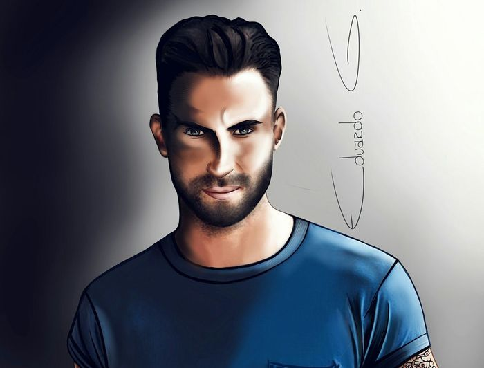 Adam levine. That's Me Check This Out Taking Photos Enjoying Life Hanging Out Prada Hello World Modelmanagement Taking Photos Enjoying Life