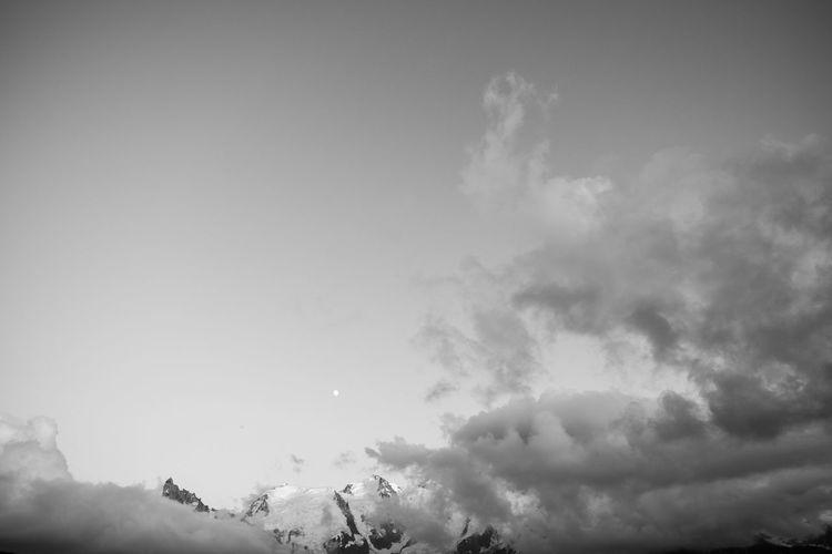 Blackandwhite Cloud Clouds And Sky Fujifilm Fujifilm_xseries Landscape Mont Blanc Mountain Mountain Peak Mountain Range Nature Tranquil Scene