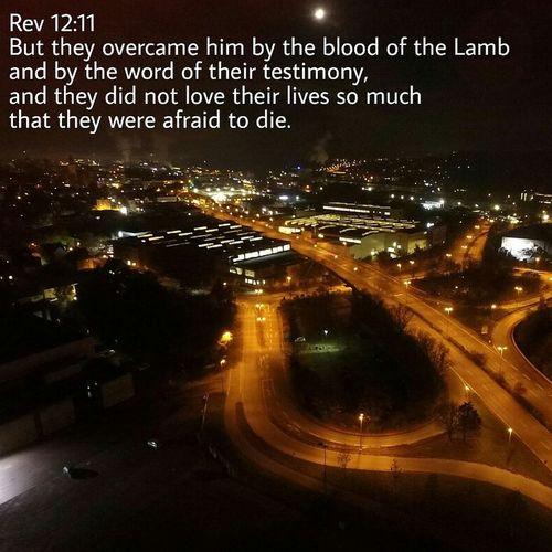 Testimony Night Street Traffic Cityscape Flying High