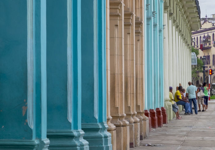 Architecture Building Exterior Colorful Buildings Cuba Day Outdoors Repeat Travel Destinations
