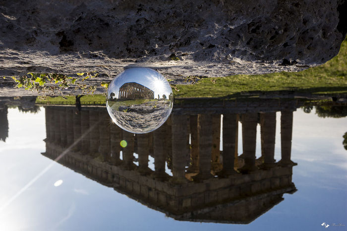 Campania Cristalball Italia Itay Paestum Reflecions Reflection Riflessi Riflesso Salerno Temple Temple - Building Temples