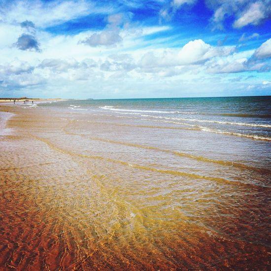 Life's a beach Sea Horizon Over Water Beach Nature Scenics Sand Norfolk Holkham Beach Sommergefühle