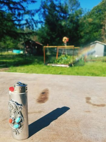 A little rainbow Summer Lighter Rainbow Goodangle Farm Life Metalwork