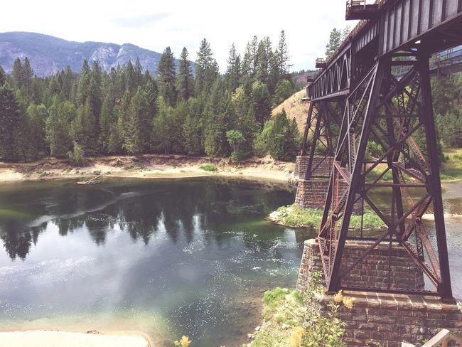 Summer ☀ Christinalake Oldtrainbridge