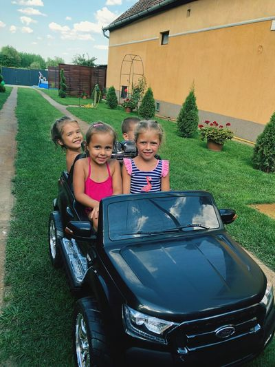 Party So Cute Girl Power Enjoing Life Hello World Happy Day Ford Ranger On The Road Childhood Child Girls Togetherness Leisure Activity
